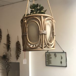 pot à plantes suspendu