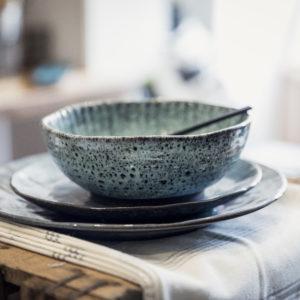 Bowl vert - noir